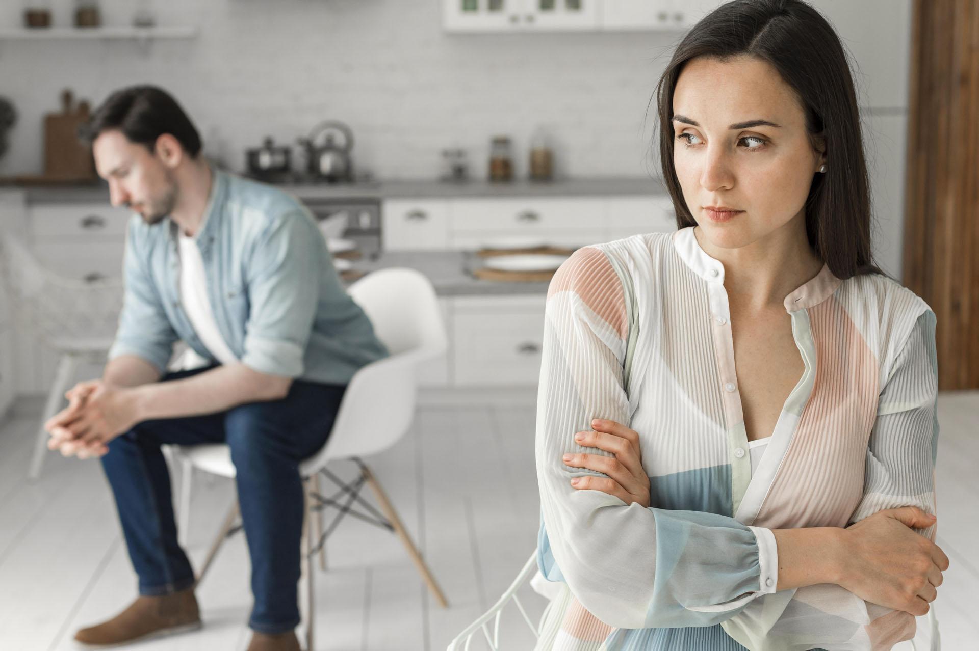 le silence du partenaire dans le couple