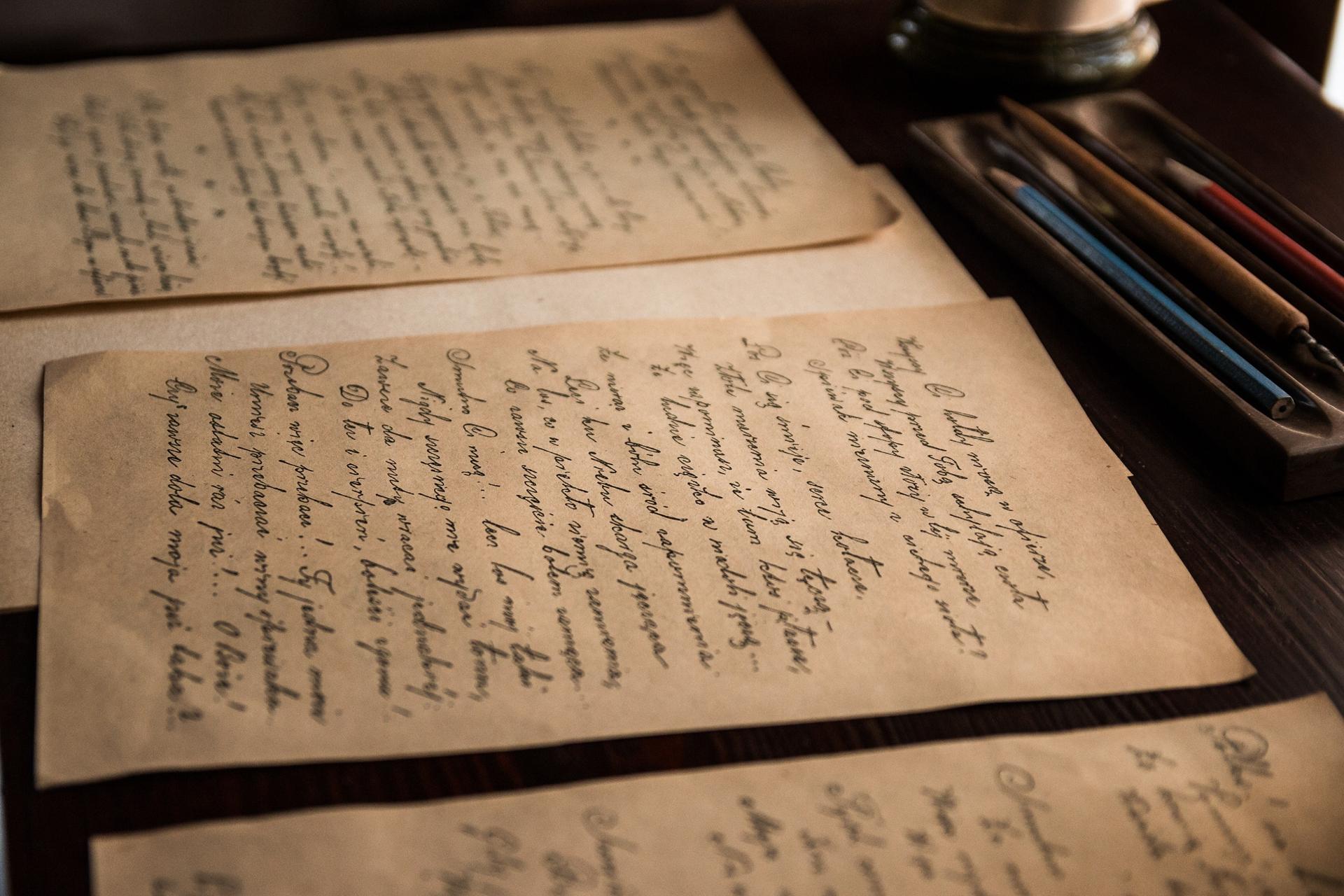 lettre manuscrite à son ex